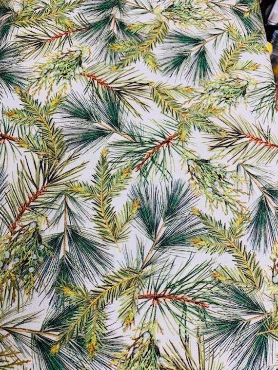 Holly Jolly Christmas Fabric by  Robert Kaufman