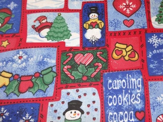 Red Winter Wonderland Fabric 251