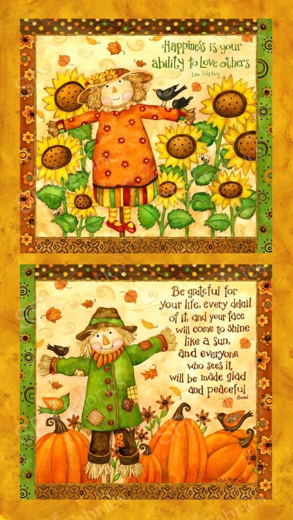 SPX Fabrics Grateful Harvest Panel 613