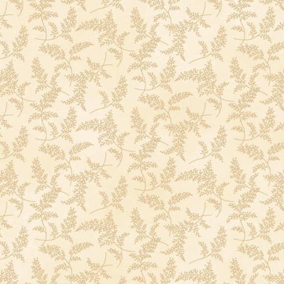 Peaceful Garden Fern Fabric Henry Glass-8692