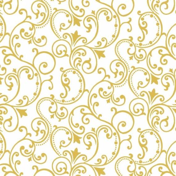 Studio E Pearle Gold Fabric