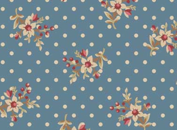Red Rooster Bed of Roses Fabric 4642-26258