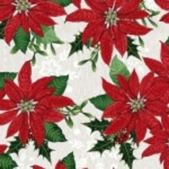 Studio E Fabric Winter Lodge Holly Berry 3304