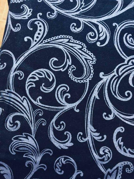 Metallic Scrolls Studio E Star Dust Fabric 2983