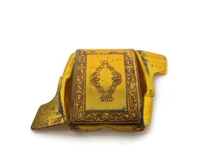 Antique Belt Buckle Small by Wilsnap Interesting Design