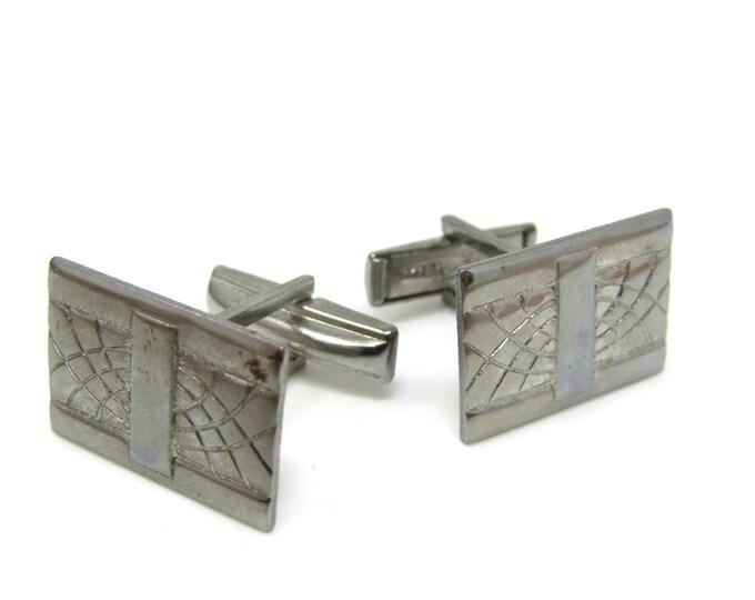 Rectangles Cufflinks for Men's Vintage Men's Jewelry Nice Design