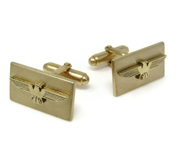 Native Eagle Design Cufflinks for Men's Vintage Men's Jewelry Nice Design