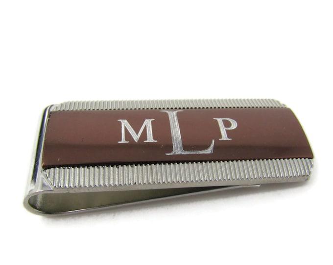 MPL Initials Money Clip Vintage Beautiful Design