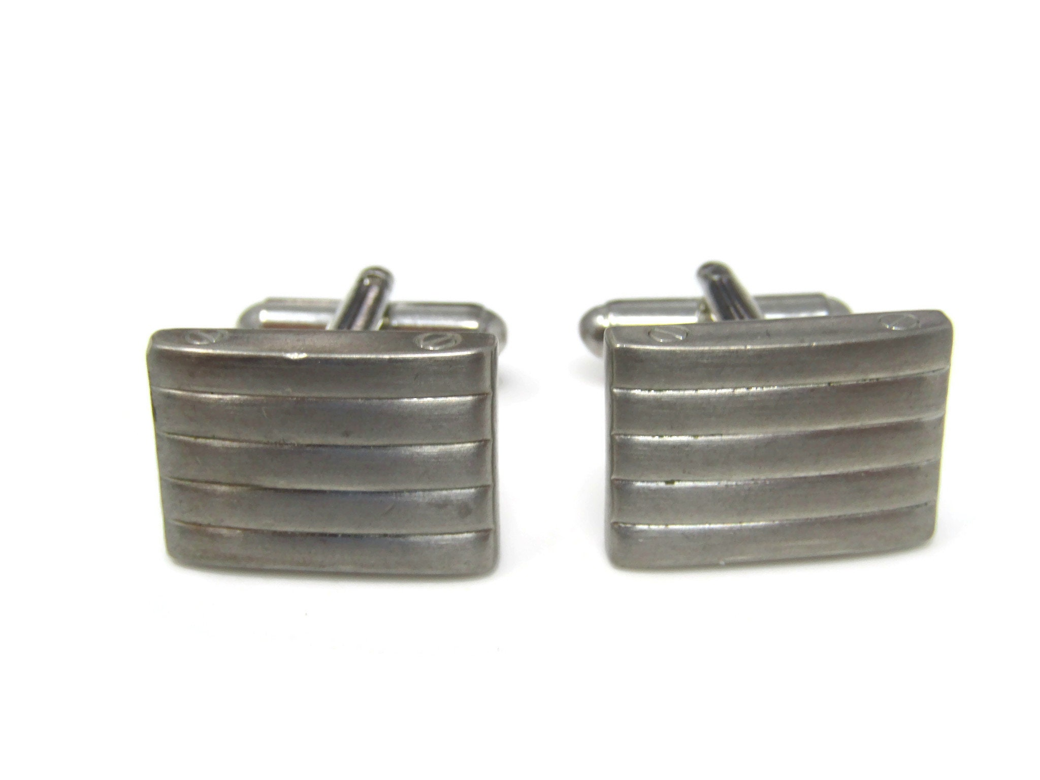 Stand Out with Style Stitch Center Antique Fit in with Class Vintage Cufflinks for Men