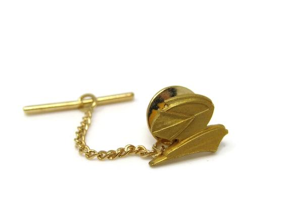 Knight Helmet Tie Tack Pin Vintage Men's Jewelry N