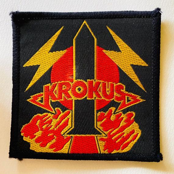 Krokus Rocket Original Vintage Woven Patch