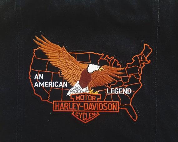 "Harley Davidson ""An American Legend"" · vintage wov"