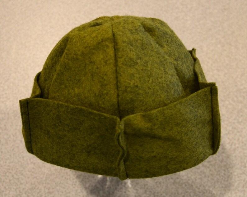 Whoopee gorras gorros de botón Jughead coronas verde  8e729c1e0b3
