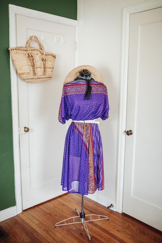 Vintage | Sangria swing dress