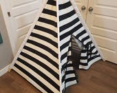 Toddler Teepee, Kids Play Tent, Teepee Tent, Kids Tent, Baby First Birthday Gift, Play Teepee, Play Tent for Boys, Play Tent for Girls