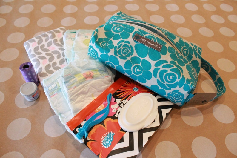 Diapers and wipes Diaper Bag Diaper Clutch Boy Baby Shower Gift Snack /& Toy Bag Diaper Clutch Girl Diaper Clutch Baby Bag Baby Gift