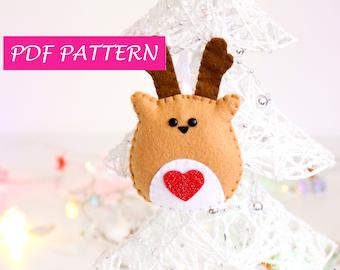 Felt Pattern Llama Garland Sewing Pattern Pdf Needlecraft Etsy