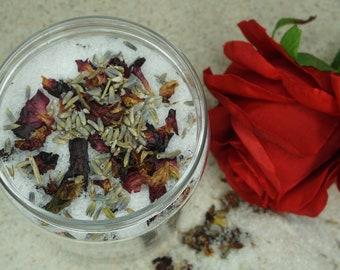 Hibiscus & Lavender Bath Soak, Bath Soak, Epsom Salt Soak, Salt Soak, Bath Salts, Bath Scrubs, Natural Skincare, Detoxify Bath Soak, Spa