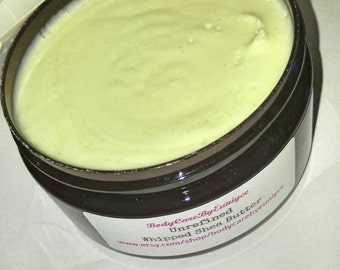 Shea Butter Unrefined ( 8oz) - Shea Butter - Moisturizer - Natural Skin Care - Body Butter - Dry Skin