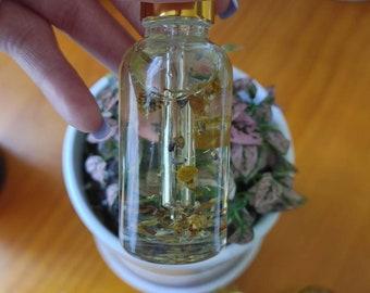 Yoni Oil, Ingrown Hair Oil, Herb Infused Oil, Soothing, Herbal Yoni Oil