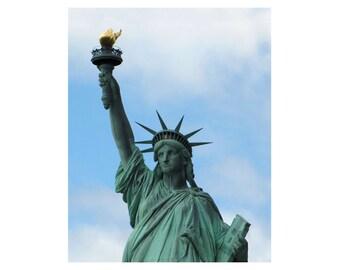 Statue of Liberty Wall Art / New York City Wall Art / Statue of Liberty Print / Photograph / Photography