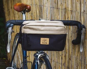 Bicycle handlebar bag waterproof cordura