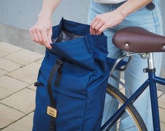 Roll Top Pannier Backpack / Backpack Pannier Bag / Cycle Bag / Pannier Backpack / Bicycle Bag / Pannier Bag / Convertible Backpack Pannier