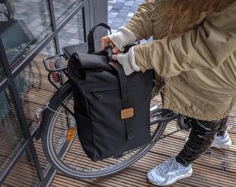 Bicycle Pannier bag / Backpack Pannier Bag / Cycle Bag / Pannier Backpack / Bicycle Bag / Pannier Bag / Convertible Pannier Backpack