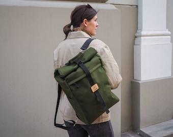 Bicycle Pannier Backpack / bike bag / Convertible backpack / Bicycle Pannier