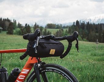 Bicycle handlebar bag, waterproof bike bag
