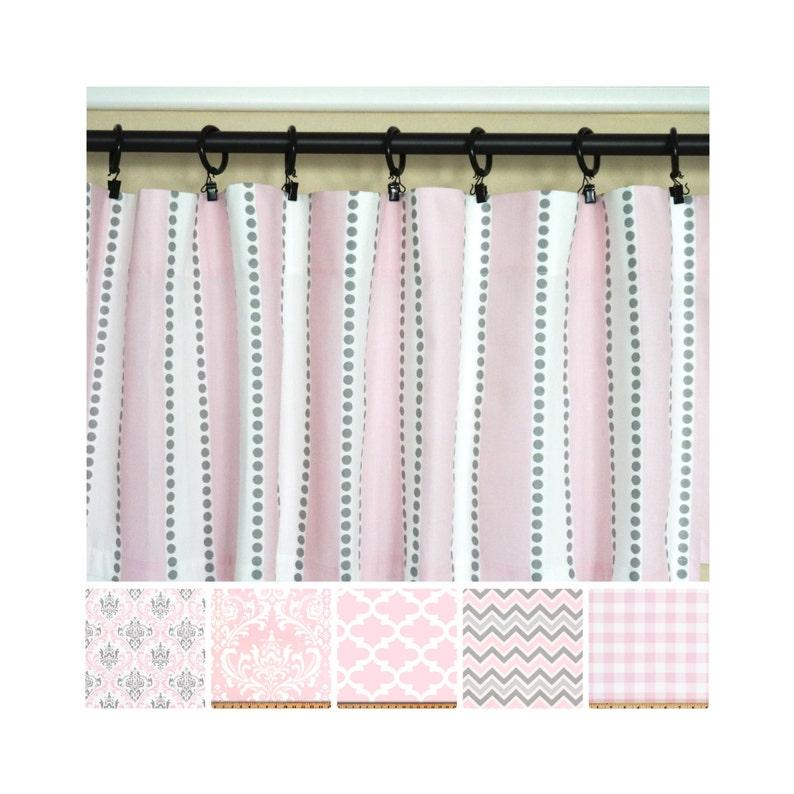5a824b20ad97 Rosa rosa de Curtains.Light gris Curtains.Kitchen cortina