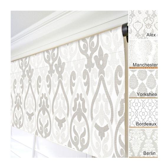Valances.Gray Window Valance.Grey Kitchen Valance.Gray Curtain  Valance.Taupe Valances.Custom Valance.Geometric Valance.Curtains