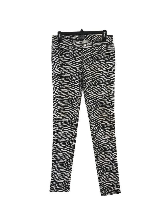 Tripp NYC Zebra Skinny Jeans