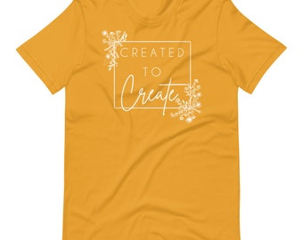 Created to Create Short-Sleeve Unisex T-Shirt