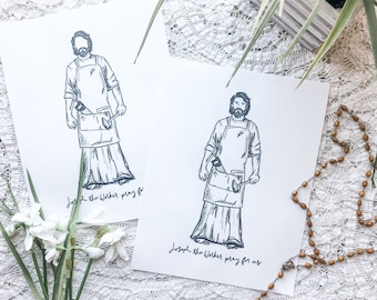 Joseph the Worker Printable Download