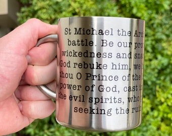 St Michael the Archangel Prayer Mug
