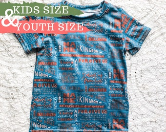 Kids & Youth Our Father Prayer Shirt