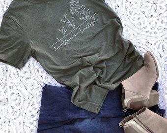 Life is Beautiful pro-life Short-Sleeve Unisex T-Shirt