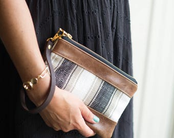 Wristlet, clutch, clutch bag, wristlet purse, leather wristlet, leather clutch
