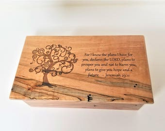 Personalized Music Box Choose Your Song Custom Wood Music