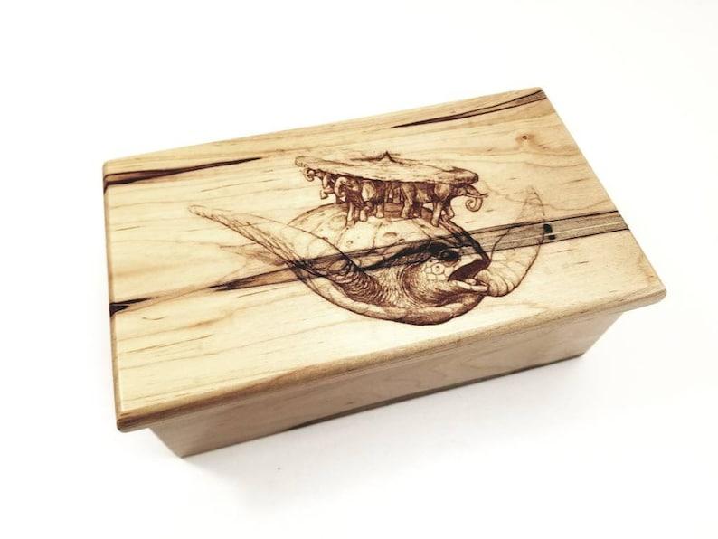 nautical box Personalized Electronic Sea Turtle Music Box ANY Song,Custom Music Jewelry Box,MP3 Music Box,Laser Engraved Digital Music Box