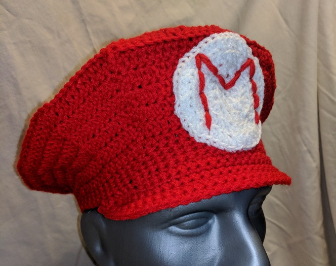 Mario Crocheted Hat