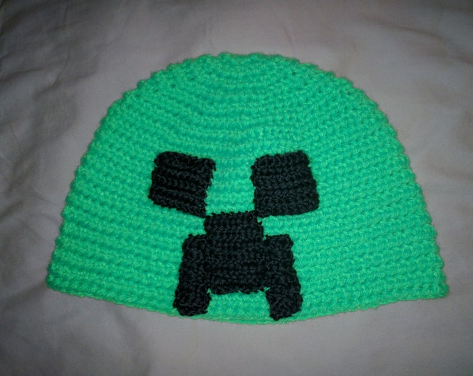 Creeper Crocheted Hat