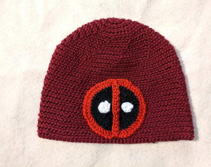 Deadpool Crocheted Hat