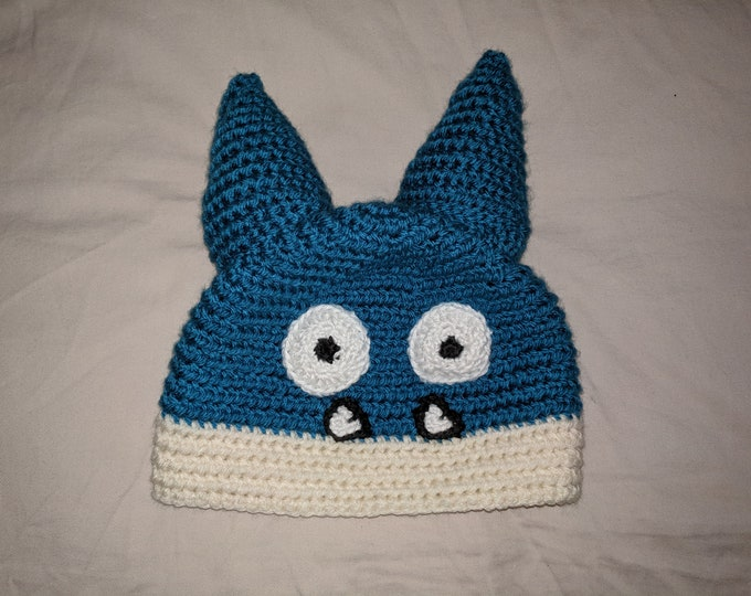 Munchlax Crocheted Hat