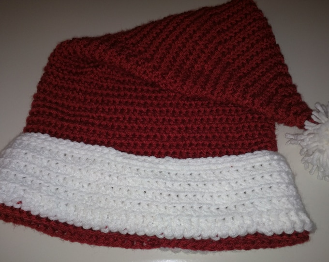 Santa Crocheted hat