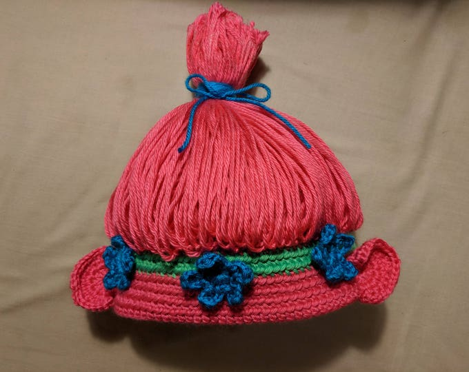 Princess Poppy Crocheted Hat