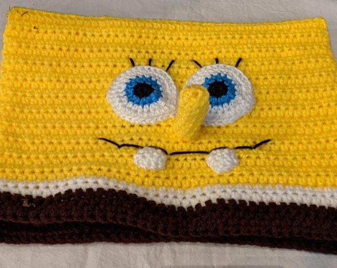 Spongebob Squarepants Crocheted Hat