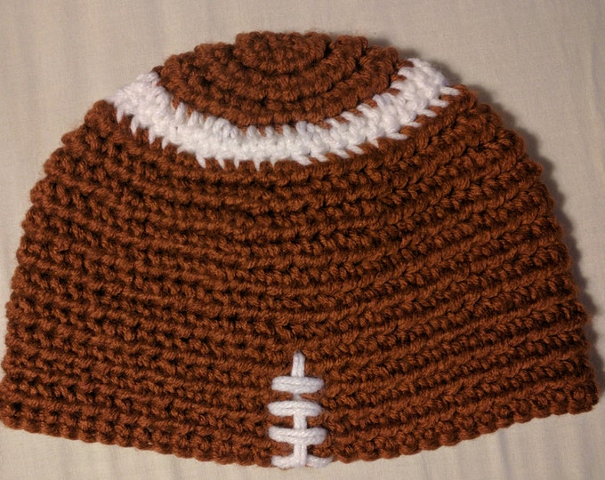 Football Crocheted Hat
