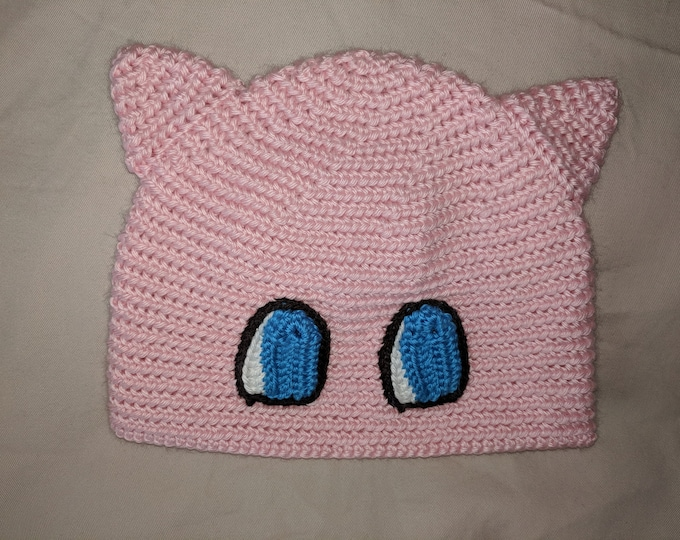 Mew Crocheted Hat